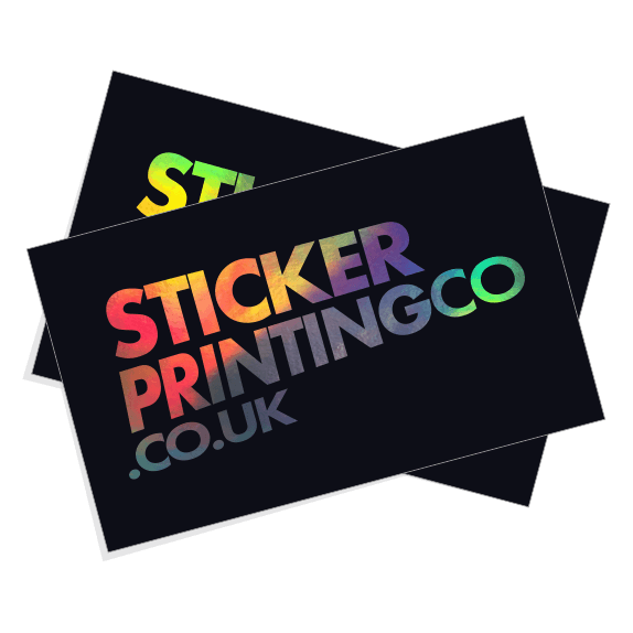 Custom Printed Hologram Stickers by Sticker Printing Co