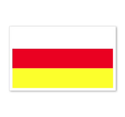 North Ossetia Flag