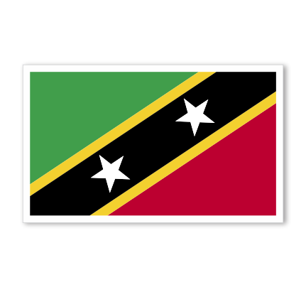 Saint Kitts & Nevis Flag